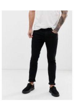 HUGO 734 - Skinny-Jeans in Schwarz - Schwarz(94104082)