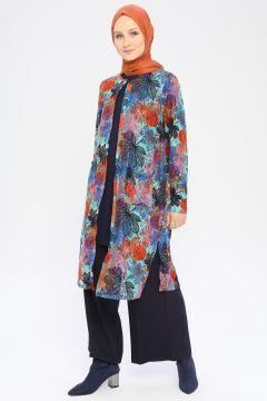 Cardigan Peker Multicolore(109327795)