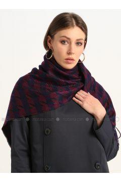 Purple - Printed - Shawl Wrap - GINA LOREN(110335061)
