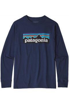 Patagonia Graphic Organic Long Sleeve T-Shirt blauw(85174347)