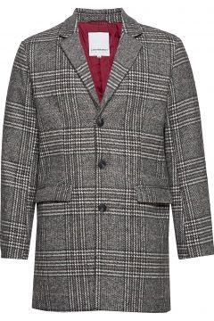 Checked Coat Wollmantel Mantel Grau LINDBERGH(114156578)