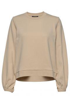 Parla Breda Sweat Sweat-shirt Pullover Beige BRUUNS BAZAAR(114154736)