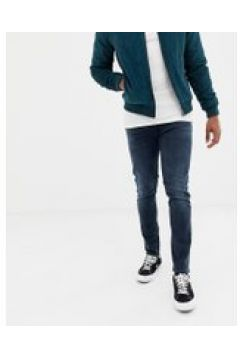 """Levi\'s 512 - Schmal zulaufende Jeans in schlanker Passform mit niedrigem Bund in dunkler \""""abu\""""-Waschung - Blau(94963615)"""