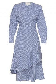 Harper Kleid Knielang Blau MUNTHE(114163717)