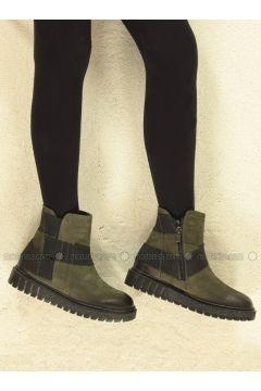 Khaki - Boots - Marjin(110338359)
