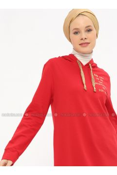 Red - Tunic - Nefise(110320865)