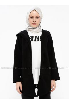 Black - Tracksuit Top - Şımart(110342590)