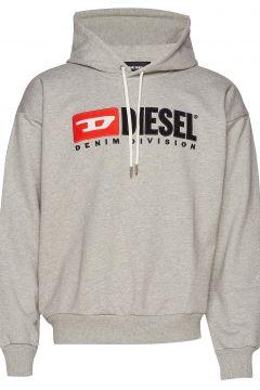 S-Division Sweat-Shirt Hoodie Pullover Grau DIESEL MEN(84486951)