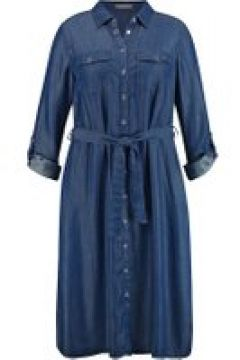 Freizeitkleid im Denim-Look Samoon Dark Blue Denim(111504998)