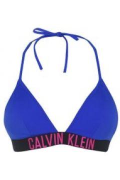 Calvin Klein Intense Power Triangle Bikini Top - Purple CKB(110464536)