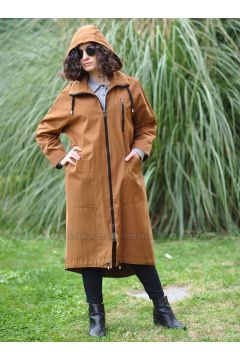 Camel - Unlined - Puffer Jackets - Minimal Moda(110331261)