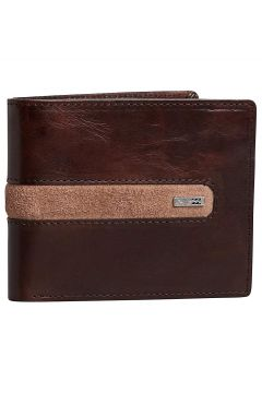 Billabong Dbah Leather Wallet bruin(85186234)