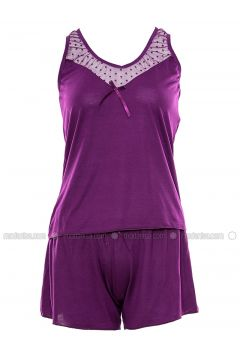 Purple - Nightdress - Lingabooms(110316362)