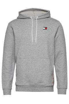 Piping Fleece Hoody Hoodie Pullover Grau TOMMY SPORT(114802039)