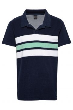 Beach Polo Shirt Polos Short-sleeved Blau BOSS(114468395)