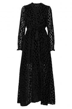 Paula Long Dress Maxikleid Partykleid Schwarz BIRGITTE HERSKIND(99021815)