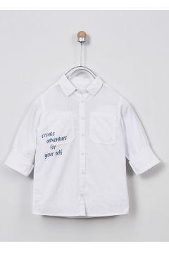 Chemises Pour Garçon Panço Blanc(109328210)