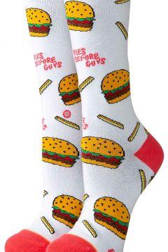 Stance Fries B4 Guys Crew Socks wit(107972520)