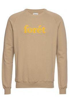 Spruce Sweatshirt Sweat-shirt Pullover Gelb FORÉT(109013523)