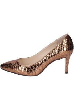 Chaussures escarpins 18 Kt escarpins bronze cuir brillant BS185(115444573)