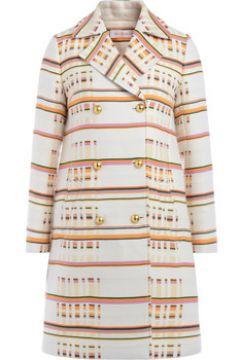 Manteau Tory Burch Manteau multicolore à double boutonnage(115583743)