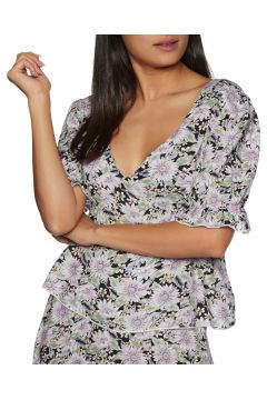 Top Femme The Hidden Way Floral Pattern - Floral Pattern(111319744)