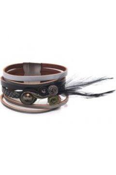 Armband India mit Feder Collezione Alessandro schwarz(111499853)