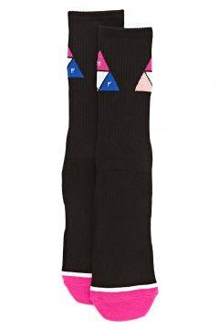 Fashion Socks Huf Prism Triangle - Black(115690458)