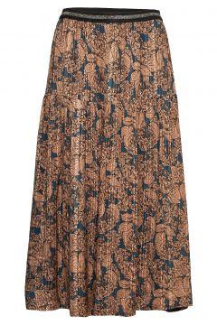 Cokko Skirt Knielanges Kleid Bunt/gemustert LOLLYS LAUNDRY(103469003)