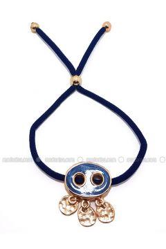 Navy Blue - Bracelet - Büşra Anıl(110338768)