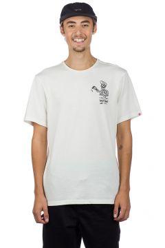 Element Spilt T-Shirt wit(85189120)