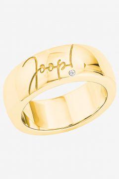 Ring mit Zirkonia in Gelbgold(111057180)