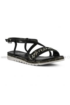 Black - Sandal - Sandal - Marjin(110337955)