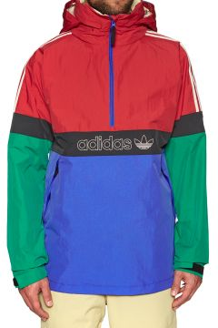 Adidas Snowboarding BB Snowbreaker Snowboard-Jacke - Bold Green Power Red Blue carbon(100265918)