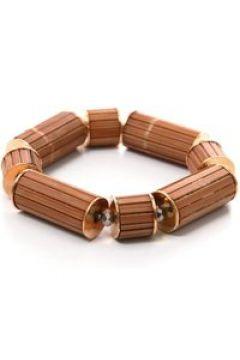 Armband Wood mit Holzelementen Collezione Alessandro braun(111506467)