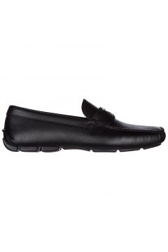 Men's leather loafers moccasins(116935702)