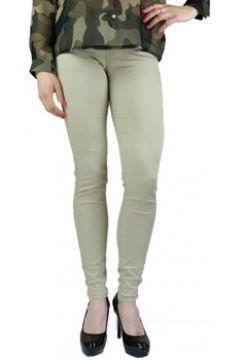 Jeans skinny Primtex Pantalon skinny toile coton stretch beige(88679014)