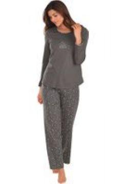 Bomullspyjamas med lång ärm(112297681)