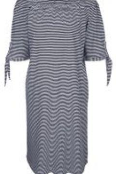Jerseykleid MIAMODA Marineblau/Weiß(111503450)