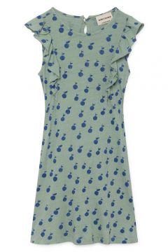 Kleid aus Bio-Leinen Orangen(113869885)