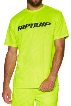 Rip N Dip Mbn Stripe Soccer Jersey Kurzarm-T-Shirt - Neon(100272921)