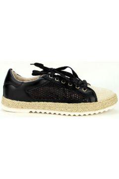 Espadrilles Cendriyon Baskets Noir Chaussures Femme(115425198)