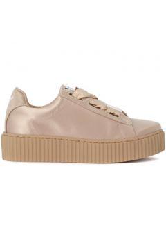Chaussures Windsor Smith Basket Olyvia en satin beige(115489227)