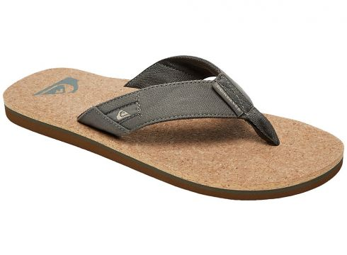 Quiksilver Molokai Abyss Cork Sandals groen(109249344)