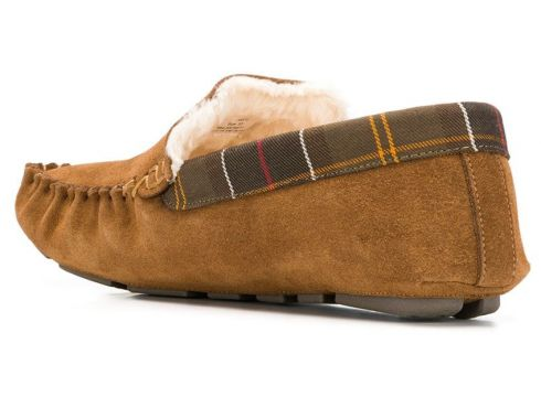 Barbour faux-shearling lined slippers - Tons Neutres(76701012)