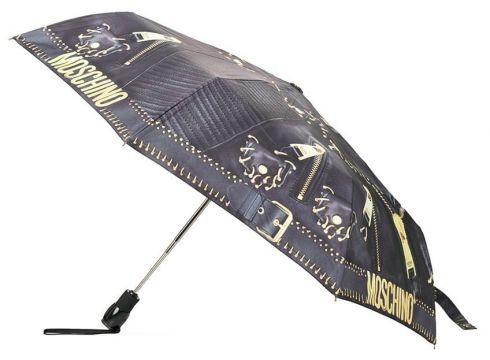 Moschino parapluie Biker - Noir(76696170)