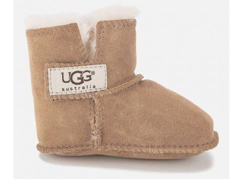 UGG Babies\' Erin Suede Pre-Walker Boots - Chestnut - UK 2 Baby - Tan(50496311)