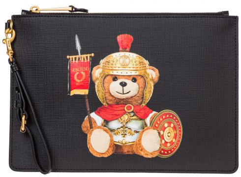 Women's clutch handbag bag purse roman teddy bear(116789040)