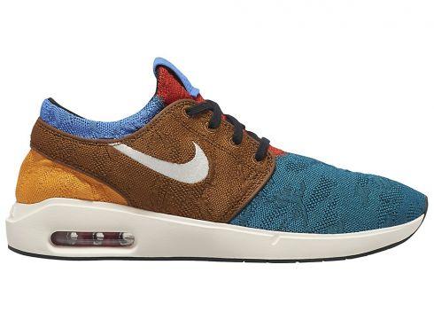 Nike SB Air Max Stefan Janoski 2 Skate Shoes blauw(93827427)
