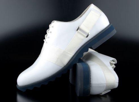 Adidas slvr French Olympic Brog Schuhe White(87045671)